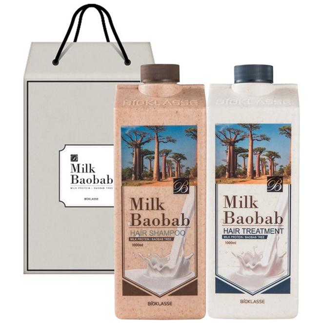 밀크바오밥 오리지널 헤어 2종 선물세트, 1세트