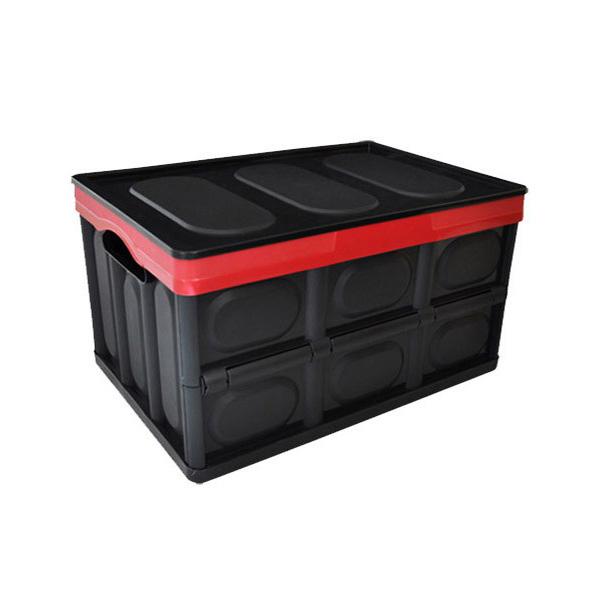 킨톤 하드케이스 접이식 차량 트렁크 정리함, 혼합 색상