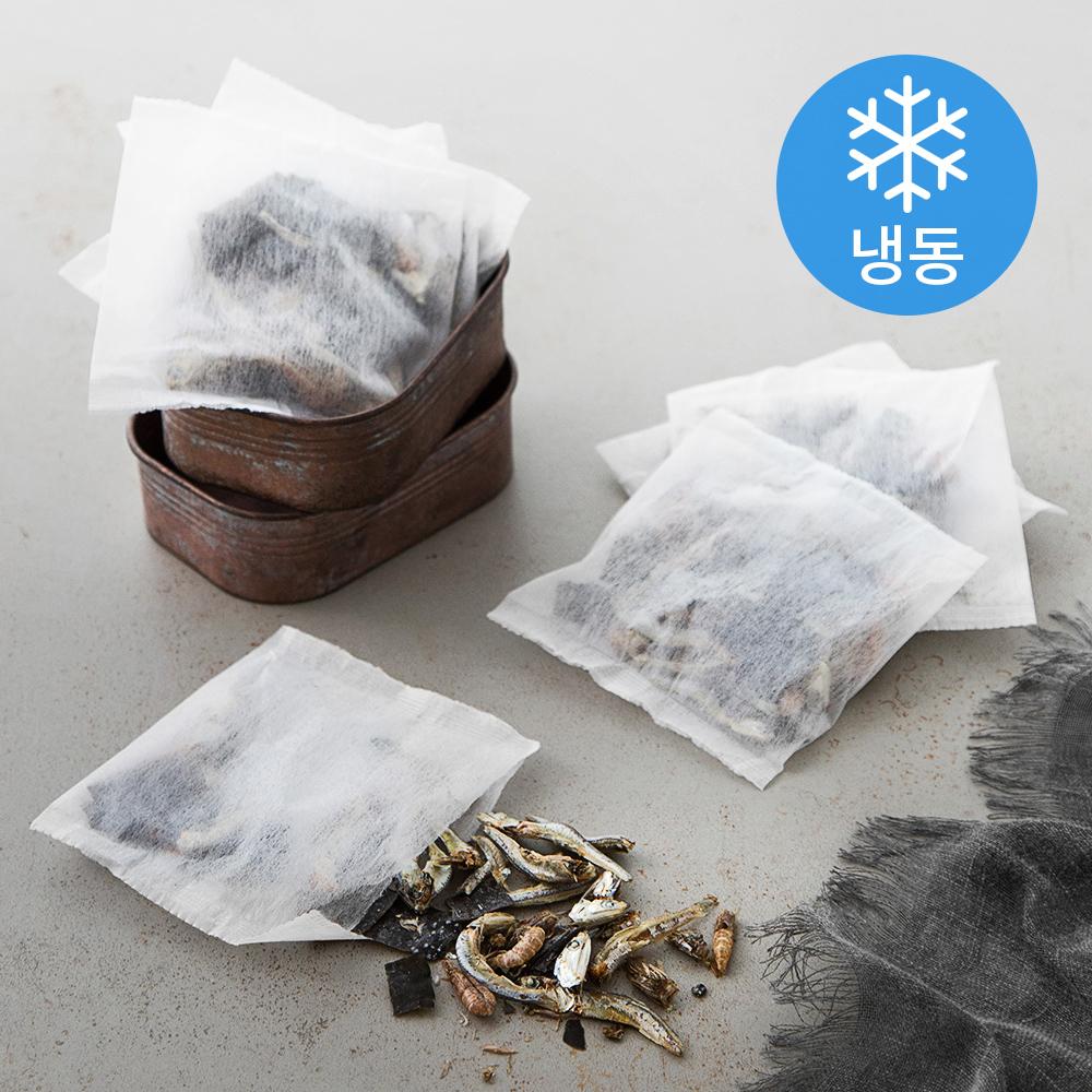 조혜정의멸치연구소 삼천포 해물멸치다시팩 (냉동), 320g, 1개
