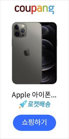 Apple 아이폰 12 Pro Max, Graphite, 256GB