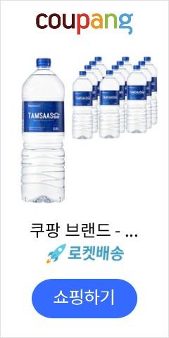 쿠팡 브랜드 - 탐사수, 2L, 12개