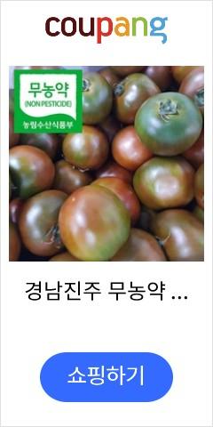 경남진주 무농약 흑토마토 2kg(18~20과) 품질우량, 1박스
