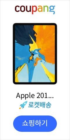 Apple 2018년 아이패드 프로 11 3세대 Wi-Fi 256GB, 스페이스 그레이(MTXQ2KH/A)