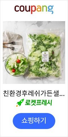 친환경후레쉬가든샐러드, 500g, 1개