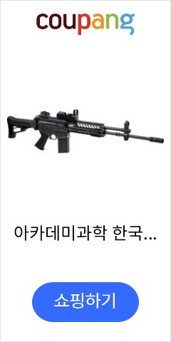 아카데미과학 한국군 제식소총 K2C1 전동건
