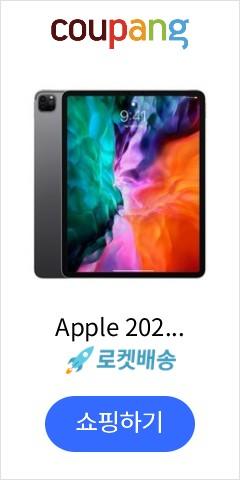 Apple 2020년 iPad Pro 12.9 4세대, Wi-Fi, 256GB, Space Gray