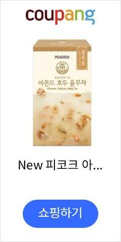 New 피코크 아몬드호두율무차 50입, 1