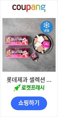 롯데제과 셀렉션 아이스크림 10개입 (냉동), 500ml, 2개