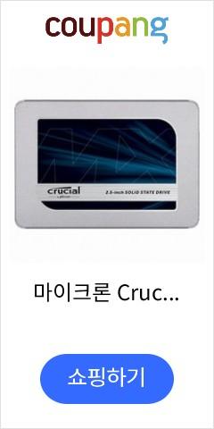 마이크론 Crucial MX500 대원CTS (1TB), 단일상품