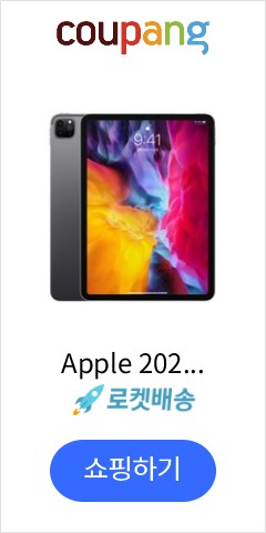 Apple 2020년 iPad Pro 11 2세대, Wi-Fi, 256GB, Space Gray