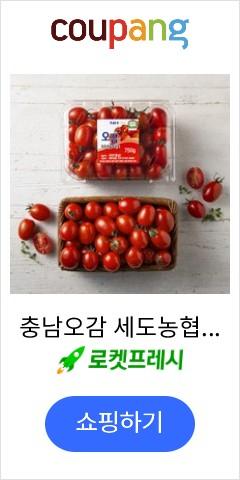 충남오감 세도농협 GAP 인증 대추방울토마토, 750g, 1팩