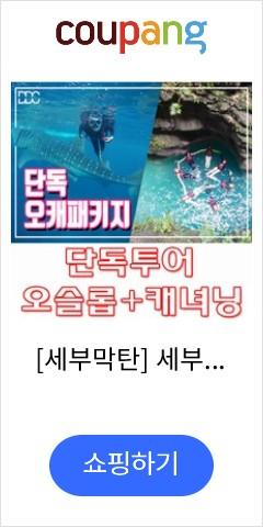 오슬롭 고래상어투어 + 가와산 캐녀닝투어 단독패키지