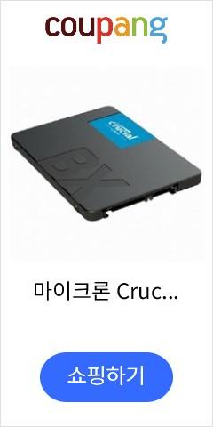마이크론 Crucial BX500 대원CTS (240GB), 단일상품