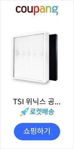 TSI 위닉스 공기청정기 제로2.0 호환 국내산 일반 + 탈취 필터 세트, CAF-G0S6