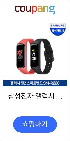 삼성전자 갤럭시 핏2 SM-R220 스마트밴드, (SM-R220NZKAKOO)블랙