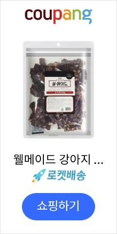 웰메이드 강아지 수제간식 대용량 500g, 오리목맛, 1개