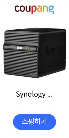Synology DS418J DiskStation 4-Bay Diskless NAS, DS418J (16TB)