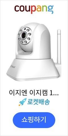 이지엔 이지캠 100만 화소 IP 카메라 CCTV, ES100G