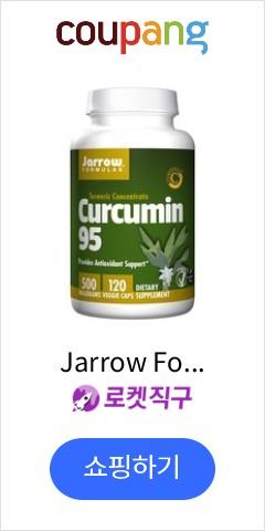 Jarrow Formulas 커큐민 95 500 mg 베지 캡, 120개입, 1개