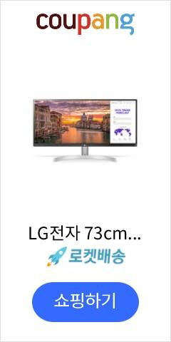 LG전자 73cm WFHD 울트라 와이드 모니터, 29WN600