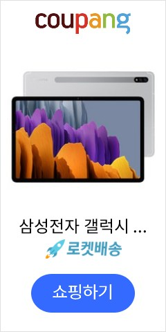삼성전자 갤럭시 탭S7 11.0 LTE + Wi-Fi 128GB, SM-T875N, 미스틱실버