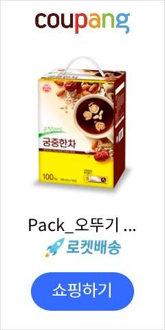 Pack_오뚜기 궁중한차, 18g, 100개입