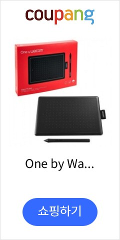 One by Wacom Graphic Drawing Tablet for Beginners Small (CTL472K1A), 단일상품