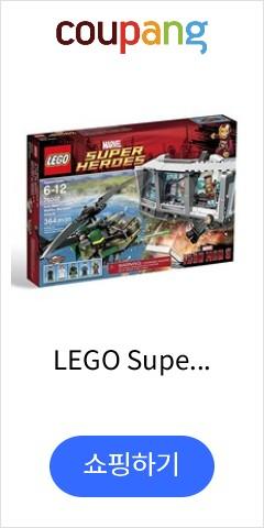 LEGO Super Heroes 76007: Iron Man Malibu Mansion Attack, 단일상품