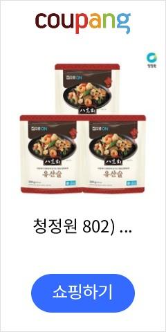청정원 802) 집으로ON 유산슬 350g x3개 (냉동), 1개