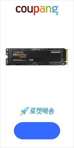 삼성전자 M.2 SSD 970 EVO Plus, MZ-V7S1T0BW, 1TB