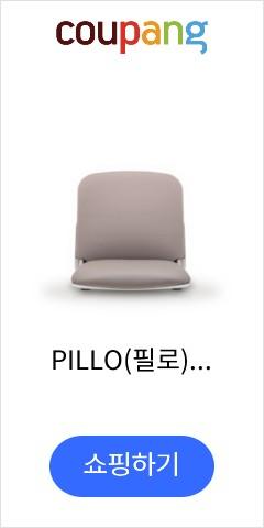 PILLO(필로) M090 인조가죽 좌식의자(화이트쉘타입), 베이지