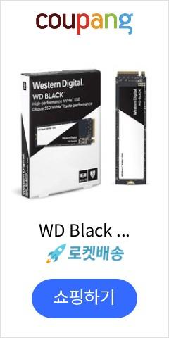 WD Black 3...