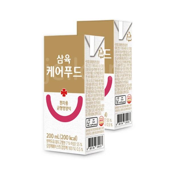 삼육 케어푸드 환자용 균형영양식 200ml 환자식, 24팩