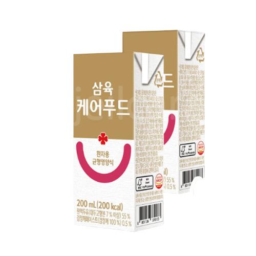 삼육 케어푸드 환자용 균형영양식 200ml 환자식, 48팩