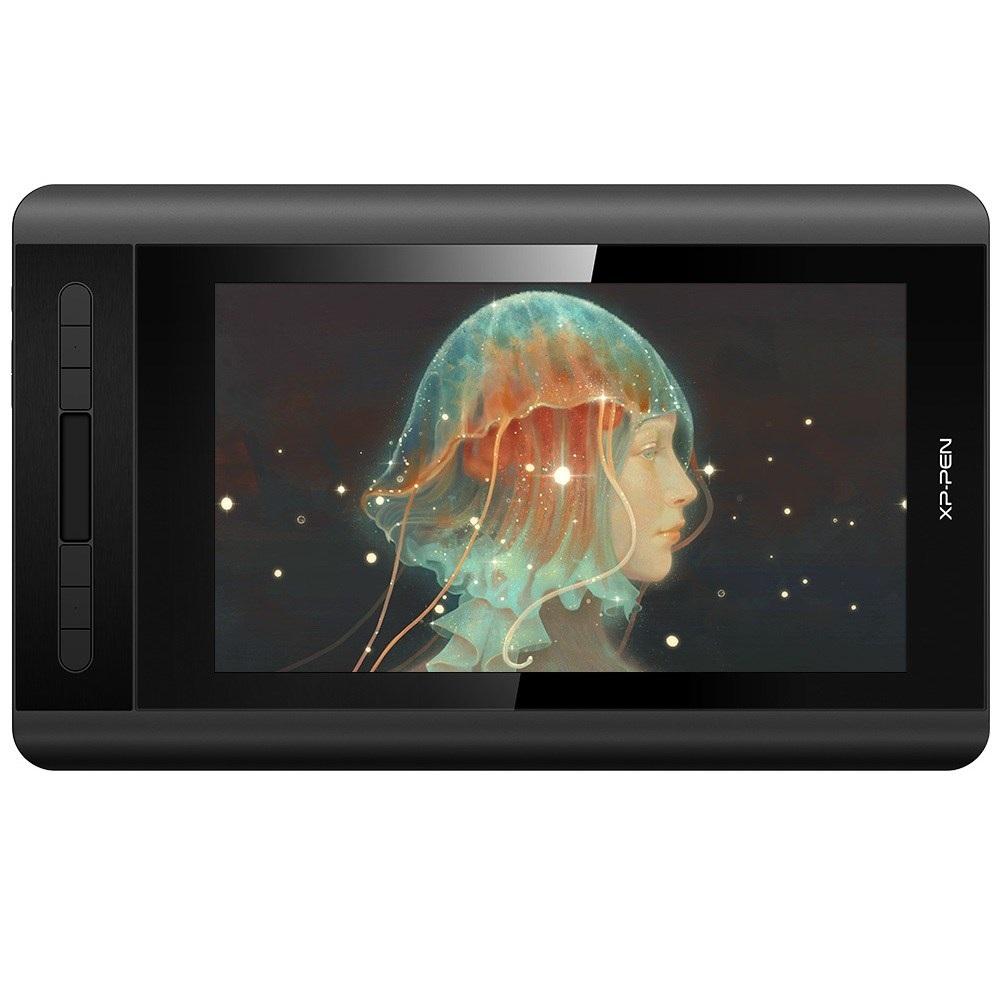 엑스피펜XP-PEN Artist12 액정 타블렛 드로잉 FHD 8192필압 지우개 기능 편리한 휴대성, 블랙