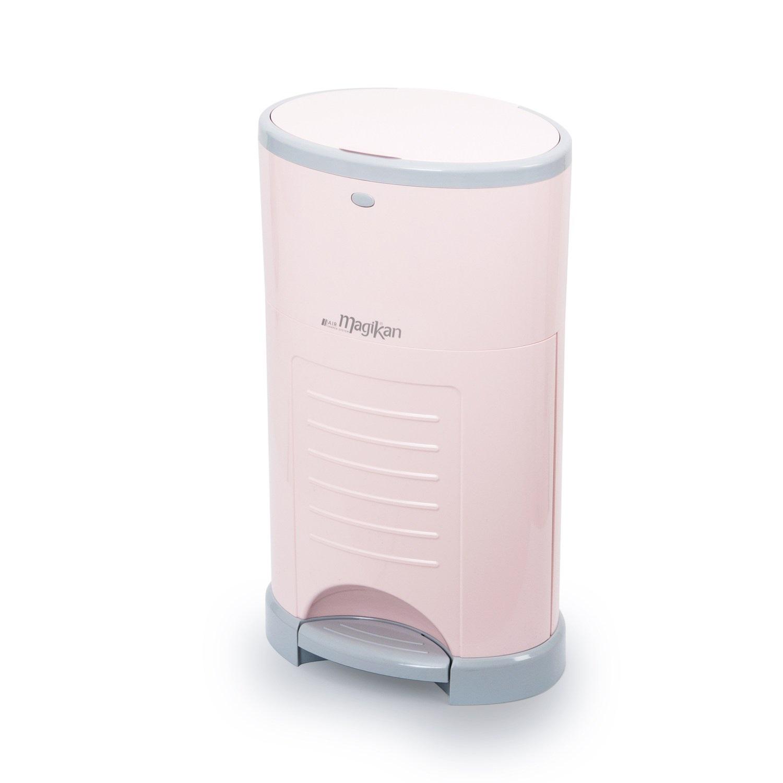 매직캔 M220NSPG 9L 휴지통, 핑크, 1개