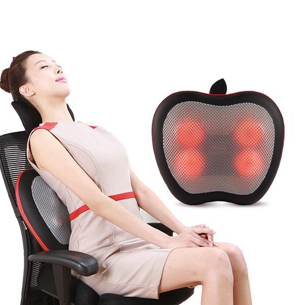 쎄라피트 애플백 등 허리 온열 마사지기