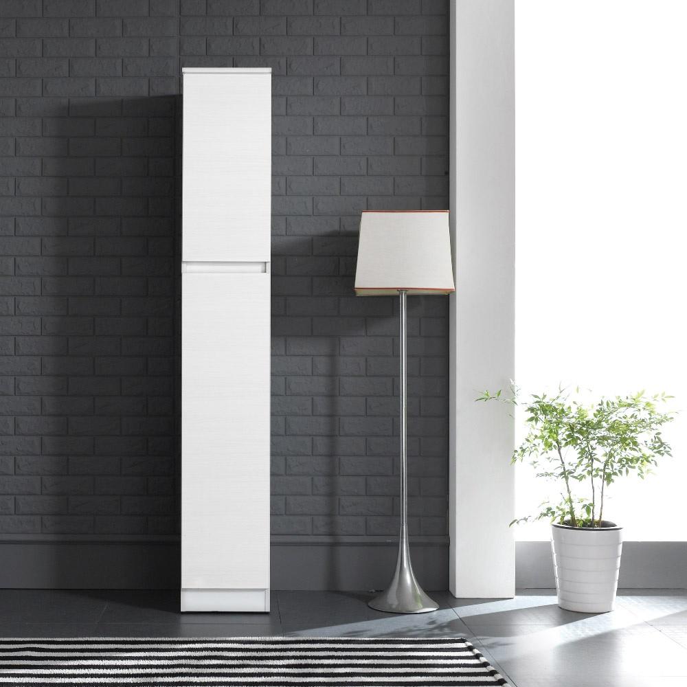 바로방가구 히트 1800 주방 부엌 냉장고 틈새장 수납장형렌지대, 화이트