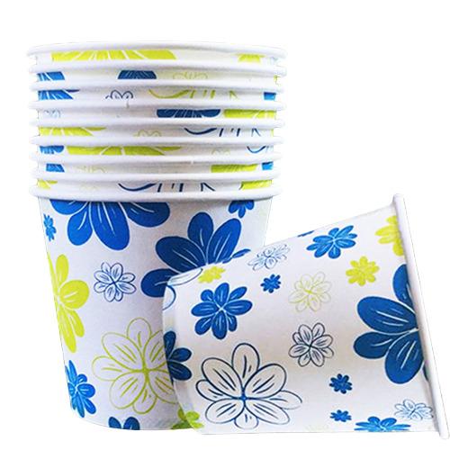 페이퍼맥스 꽃그림 종이컵, 2000개 (POP 52835216)