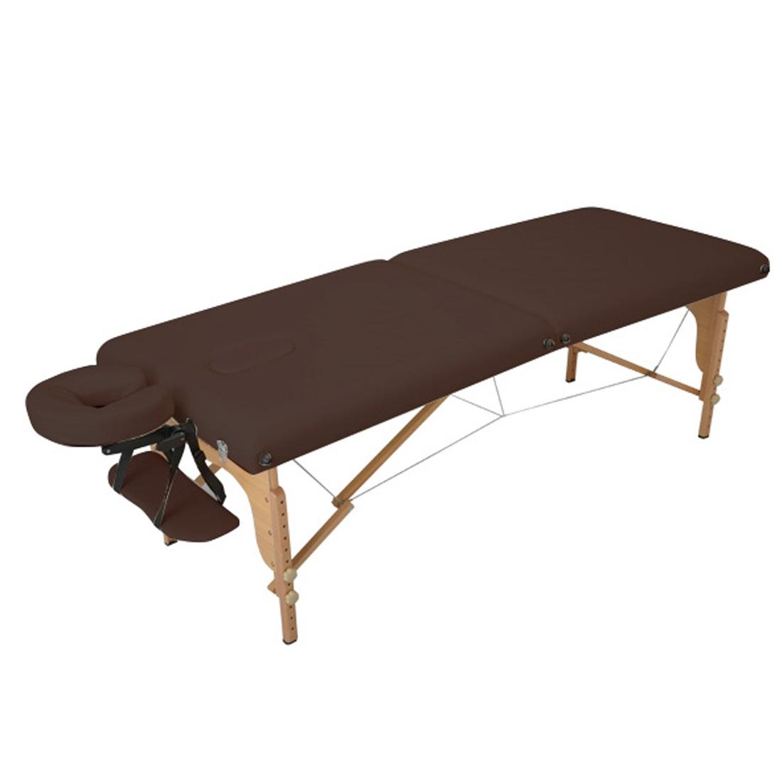 세븐뷰티 접이식 마사지 침대, 접이식마사지침대V-004_다크브라운