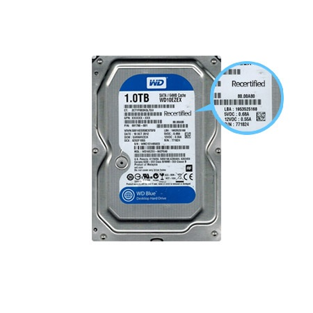 WD Blue Hard Drive HDD, WD10EZEX, 1TB