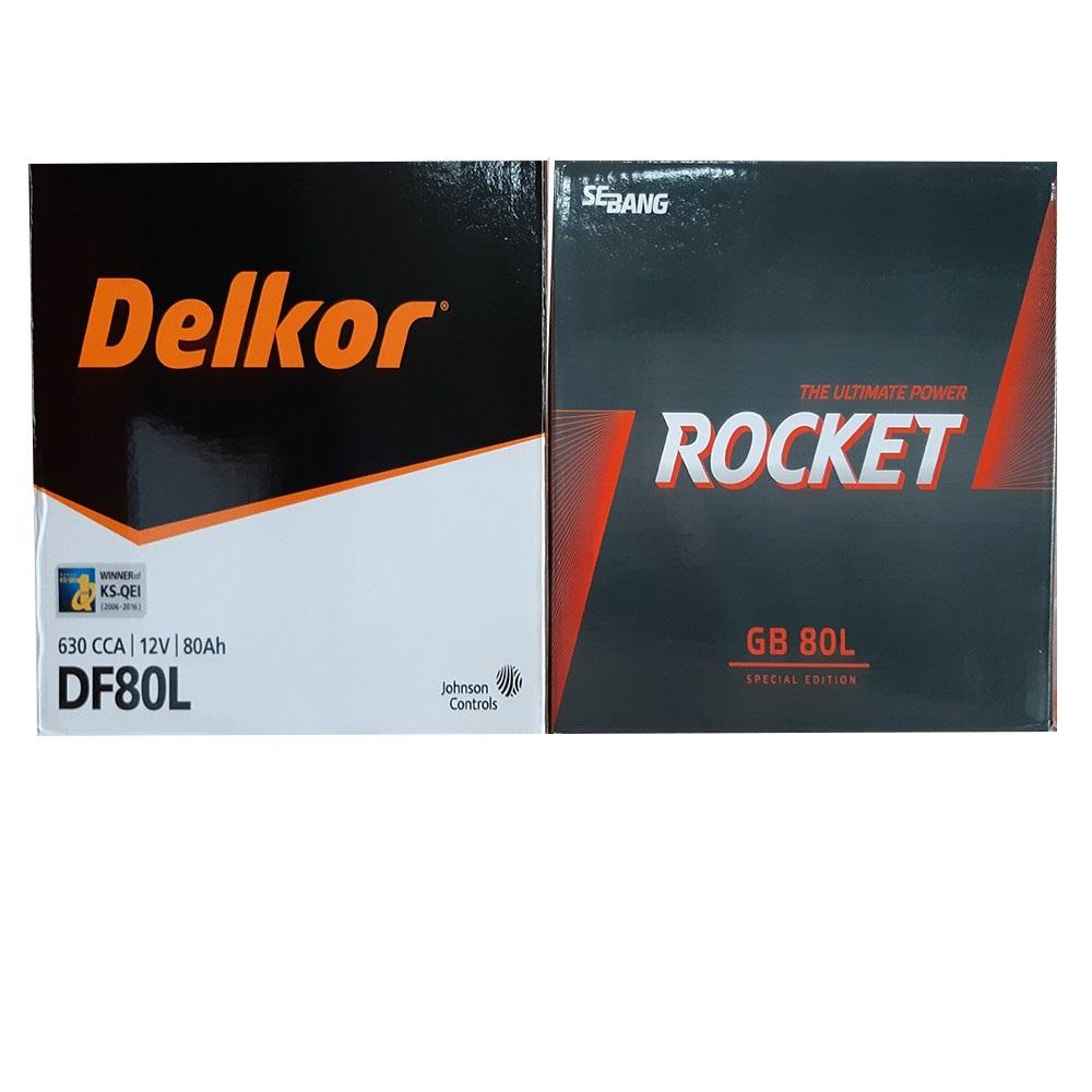 델코 로케트 전품목자동차배터리, DIN74L_공구대여_폐전지반납
