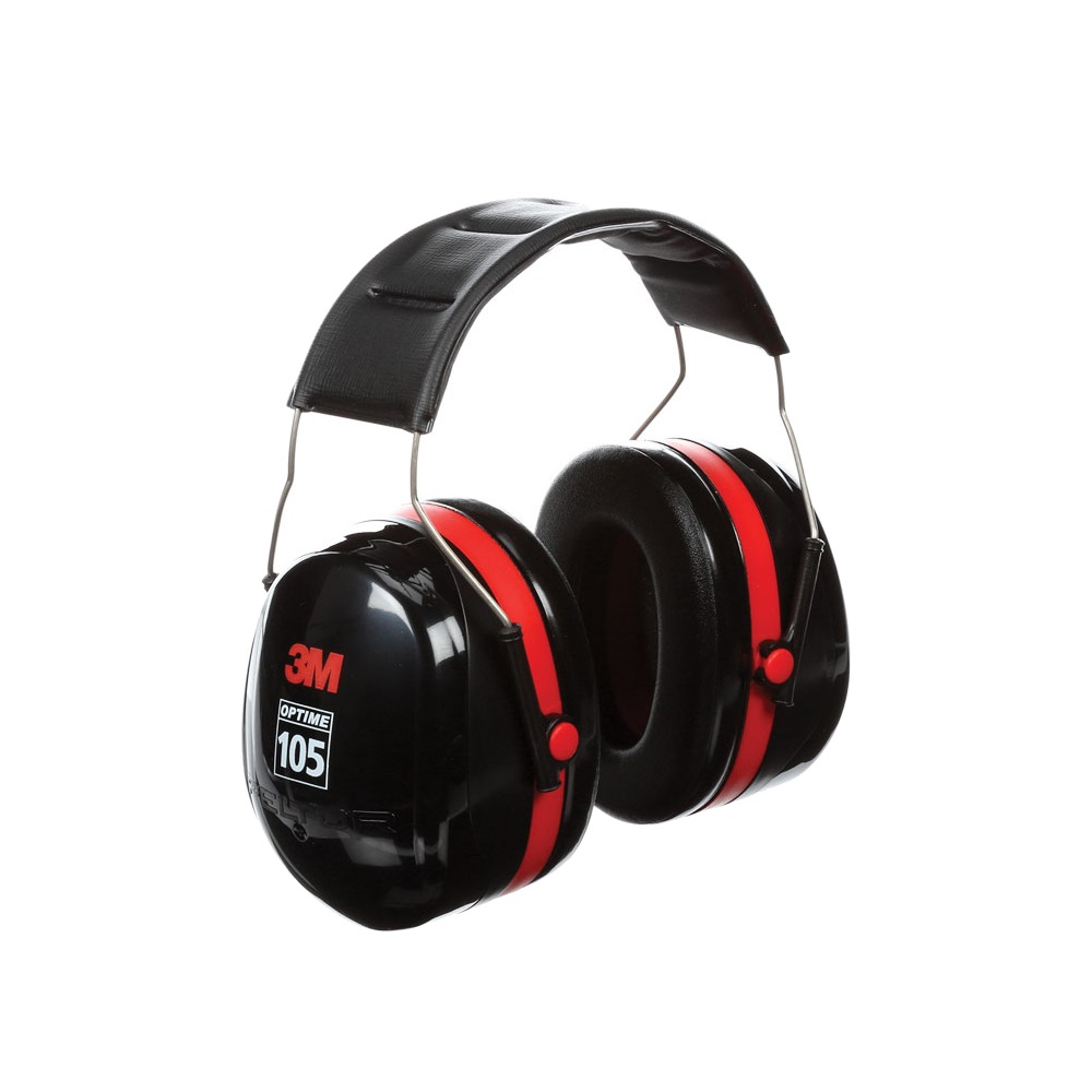 3M 헤드밴드형 귀덮개 H10A 30dB 105dBA까지 사용 특허 이중컵 가장 높은 차음률 방음 헤드셋 청력보호구 소음방지 사격 학생 건설 현장 귀마개, 1개