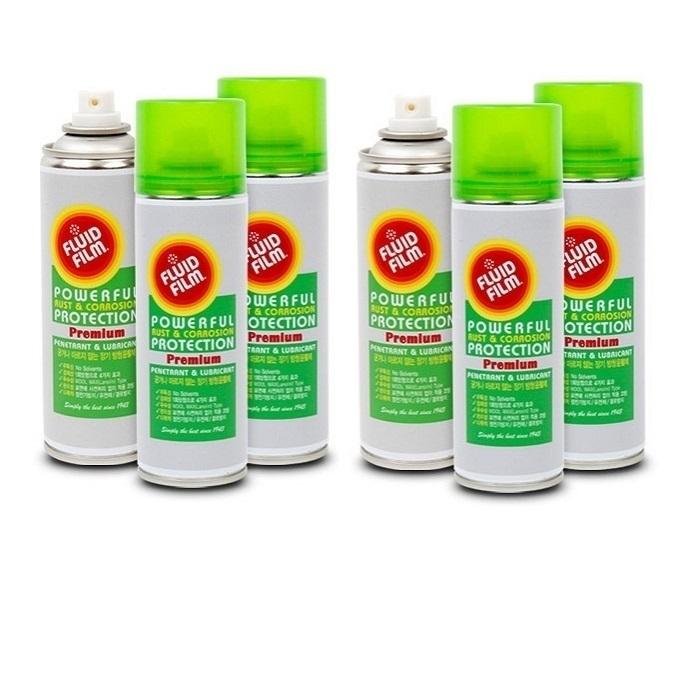 플루이드필름 프리미엄 6개 윤활제 녹방지 녹제거 광택 방수 방청제