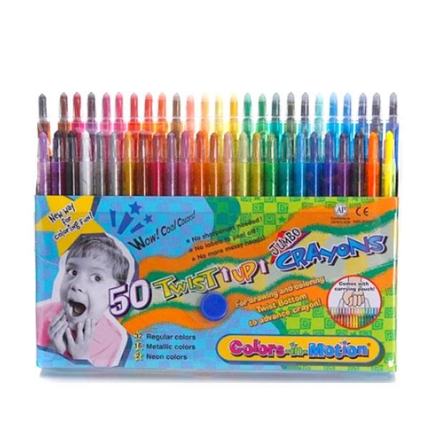 지구화학 투명이 색연필, 50색