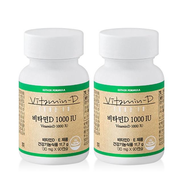 에스더포뮬러 여에스더 프리미엄 비타민 비타민D 1000IU, 180캡슐