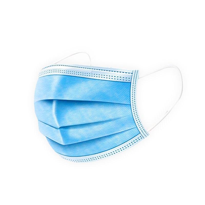 3중필터 멜트블로운 일회용 마스크 고급형 블루 (10매), 10매입