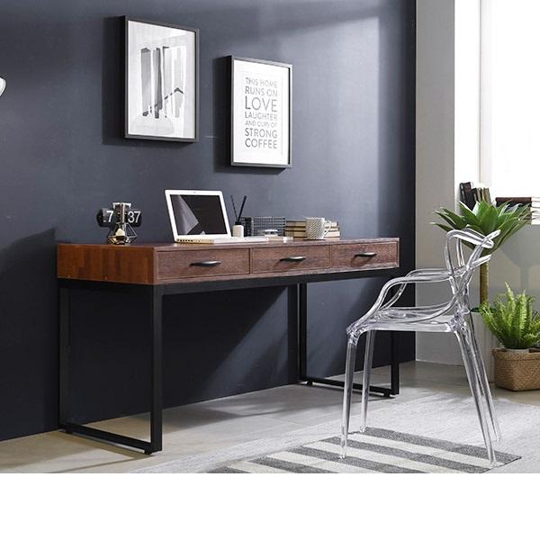 삼익가구 [삼익가구]로메즈 멀바우 1500 서랍형 책상, 멀바우 브라운