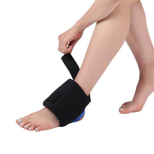 병원용아이스팩 발목찜질팩 무릎 팔꿈치에 고정사용, 201 냉온찜질팩 업그레이드 파랑커버