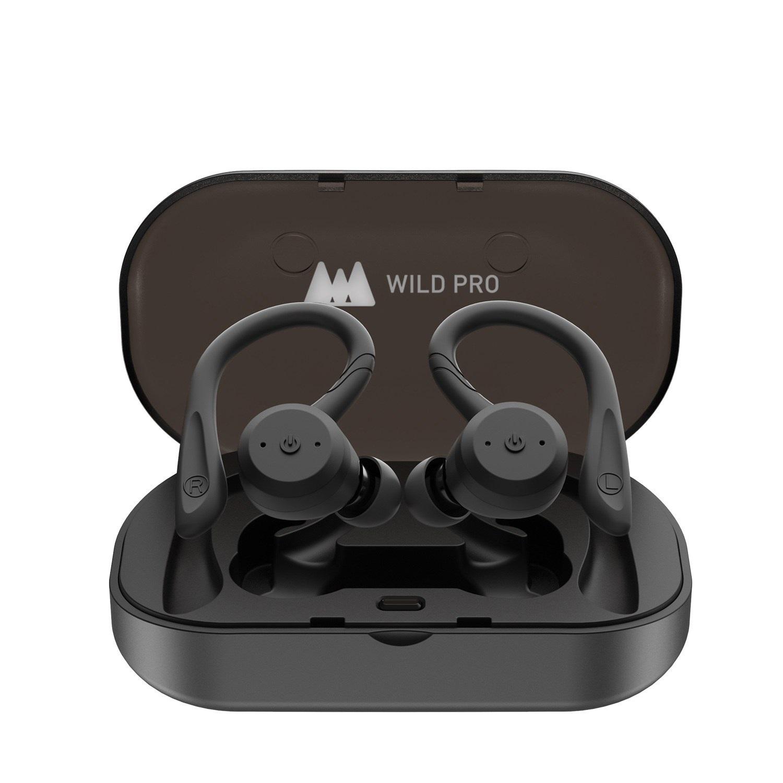 와일드프로 MT-BE1018D 스포츠운동용 완전방수 블루투스 무선이어폰 무선 이어폰, 블랙